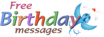 Free Birthay Messages Homepage